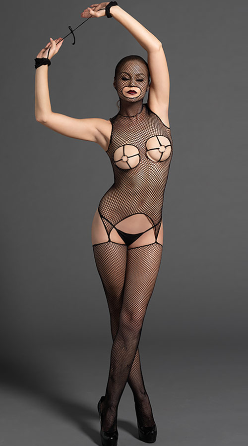 Vixson Masked Body Stocking