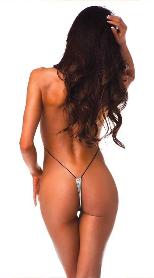Vixson Wet Look String Monokini
