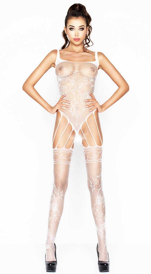 Vixson White Hot Bodystocking